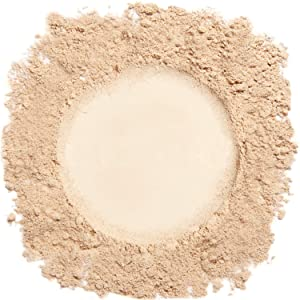 Mineral Make Up, Medium Foundation Powder, Mineral Makeup, Concealer Makeup, Natural Makeup Made with Pure Crushed Minerals, Loose Face Powder. Demure Mineral Makeup