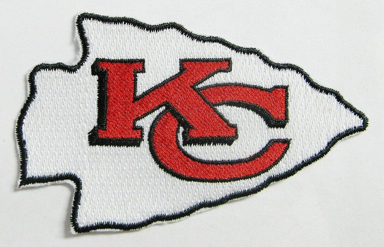 NFL Kansas City Chiefs Football Arrow Patch 3 1//2 X 2 1//8