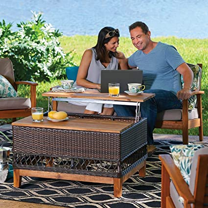 Outdoor Lift Top Coffee Table 4