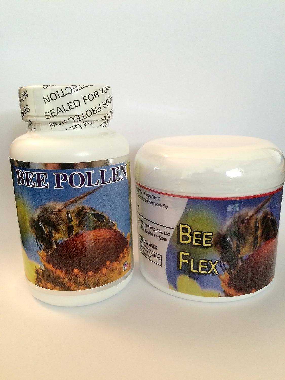 Amazon.com: Kit Abeja Polen Cápsulas & Bee Flex Crema ...