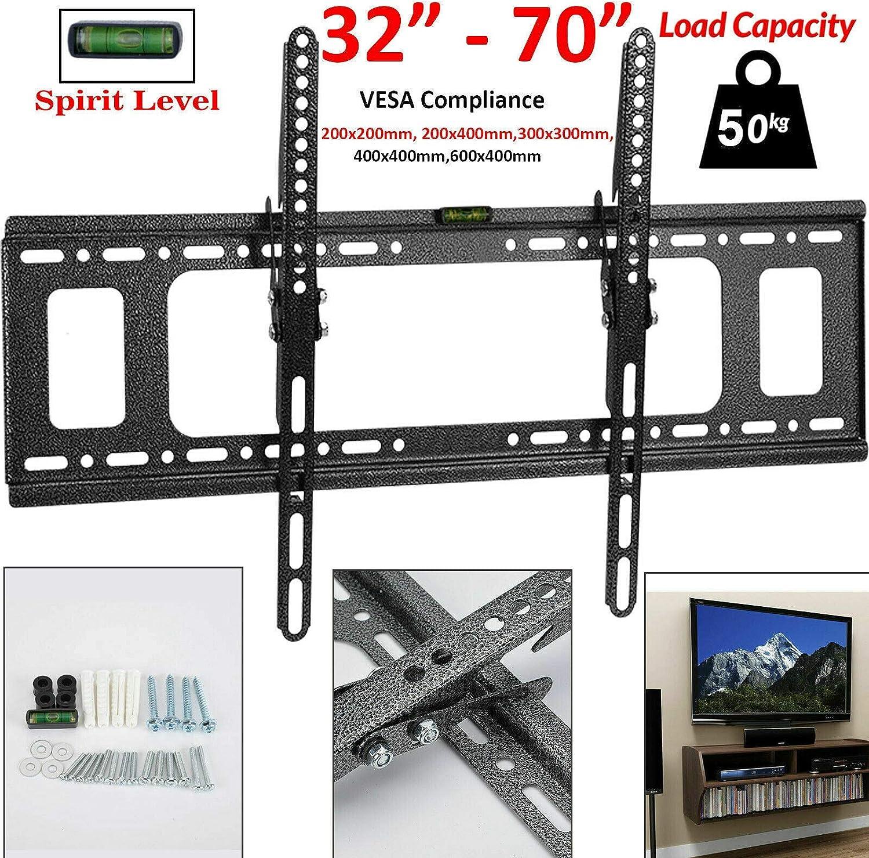 Soporte de Pared Delgado para televisores de 32 40 42 50 55 60 65 70 Pulgadas Plasma LED LCD: Amazon.es: Electrónica