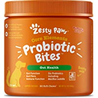Zesty Paws Probiotic for Dogs - Probiotics for Gut Flora, Digestive Health, Occasional Diarrhea & Bowel Support…