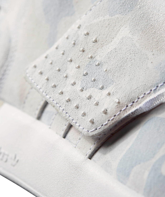 adidas Tubular solider Invader Strap, Körbe grau Montantes weiß