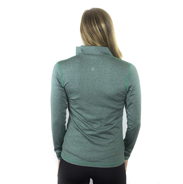 Womens Ultra Soft Athletic 1//4 Zip Pullover Sweatshirt Manaslu Athletics