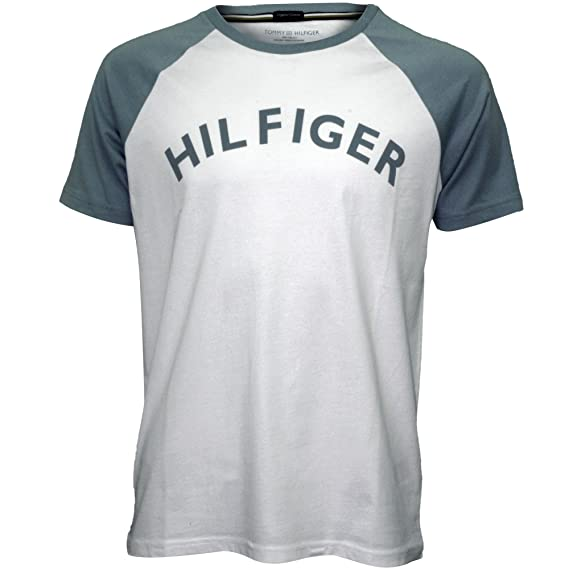 tee shirt tommy hilfiger homme logo cou