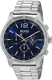 affda4b592d Hugo Boss The Professional Blue Dial Stainless Steel Men s Watch 1513527