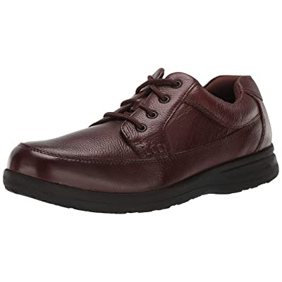 Nunn Bush Men's Cam Moc Toe Oxford Casual Lace-up with Comfort Gel and Memory Foam | Oxfords