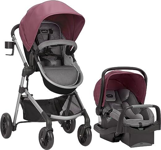Evenflo Pivot Modular Travel System, Lightweight Stroller, Sleek & Versatile, Easy Infant...