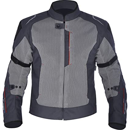 Oxford Toledo 1.0 Air - Chaqueta de Moto para Hombre, Color Negro, Azul Brillante, XXXX-Large