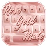 Rose Gold Mettle Keyboard Theme