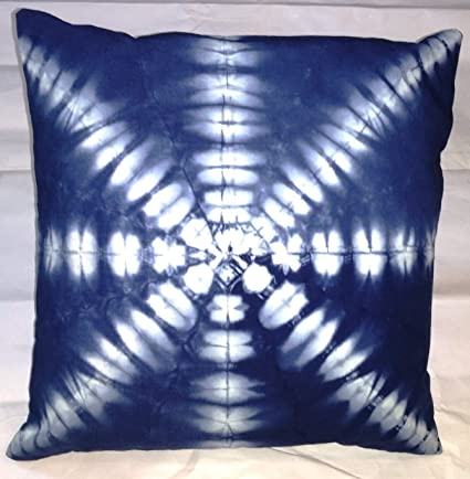Amazon Com Traditional Jaipur Indigo Dyed Pillow Cover 16x16