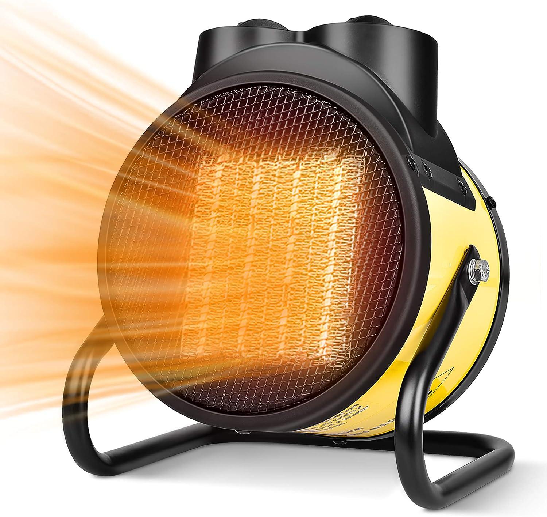 PTC Portable Space Heater Fan