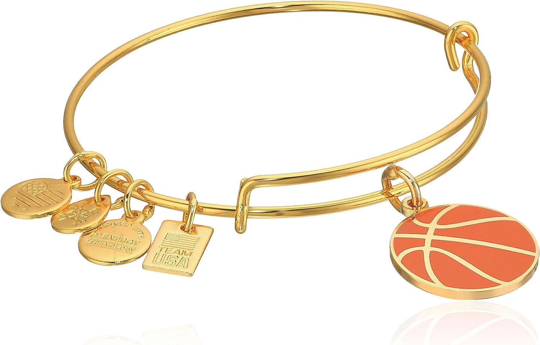 Alex and Ani Team USA Basketball Expandable Bangle Bracelet