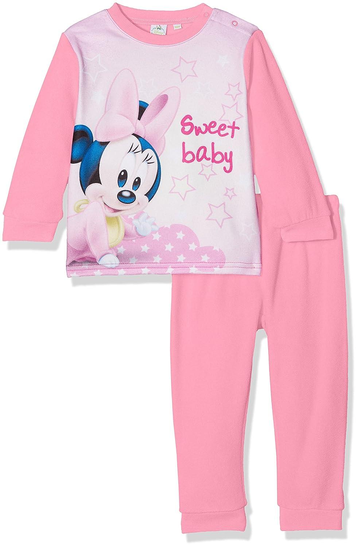 Disney Minnie Mouse Sweet Baby, Pelele para Dormir para Bebés Rosa (Pink 16-2124TC) 12 Meses HQ0313.PINK.12M