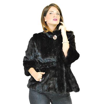 44 Mink fur jacket mahogany with fur belt pelz nerz pelliccia visone  норка ba48fe3dc039