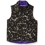 Amazon Brand - Spotted Zebra Girls' Reversible Plush Vest