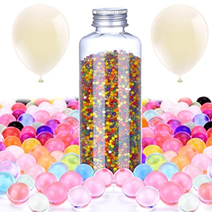 Amazon Hestya Water Crystal Gel Beads Vase Filler Jelly Water