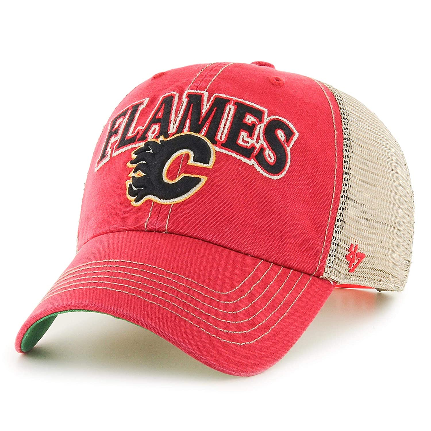 Amazon.com    47 Calgary Flames NHL Tuscaloosa Clean Up Cap ... 17c84e4faa77