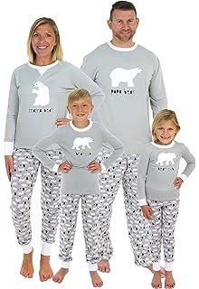 Sleepyheads Holiday Family Matching Winter Snowflake Pajama PJ Sets ... 0a01e24b5