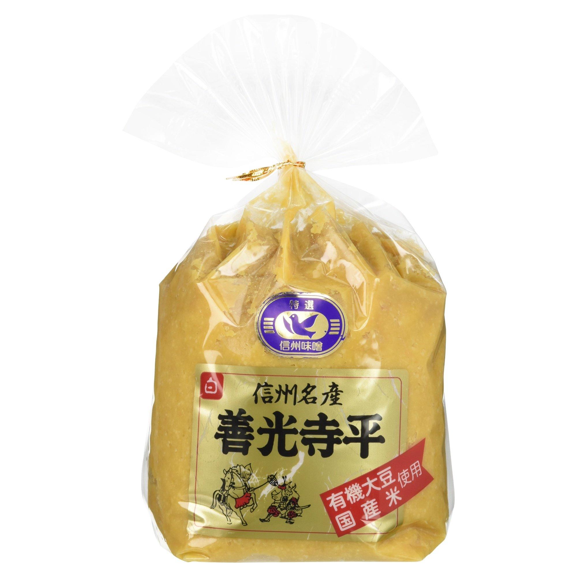 Marumo Aoki miso soy sauce brewing field Shinshu famous Zenkoji Hirashiro 1kg