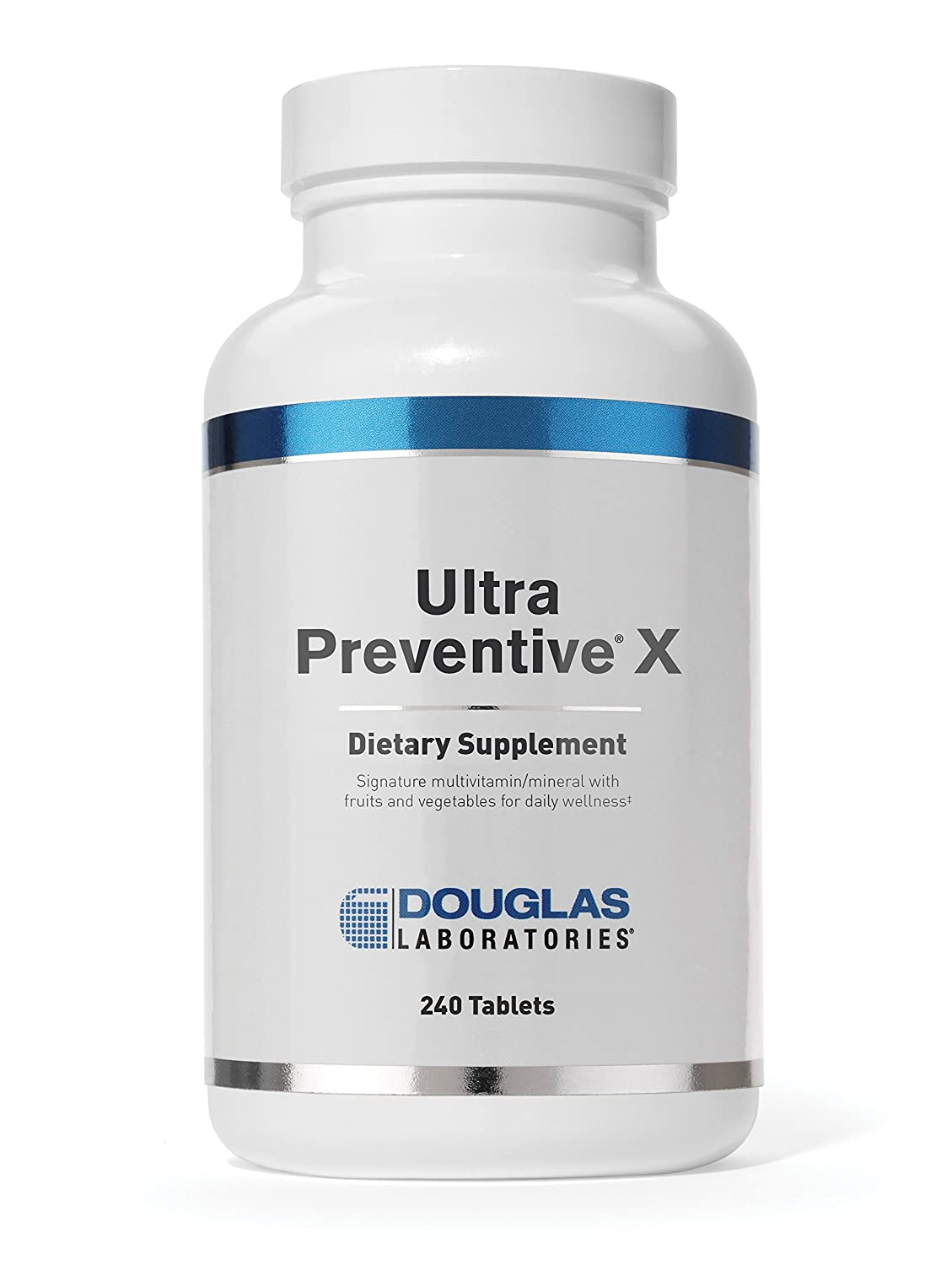 Douglas Laboratories – Ultra Preventive X – Multivitamin Mineral Formula with Fruits and Vegetables for Daily Wellness* – 240 Tablets