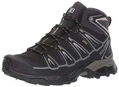 5802c27da5c Salomon Men s X Ultra MID 2 Spikes GTX Snow Boot Black Aluminium