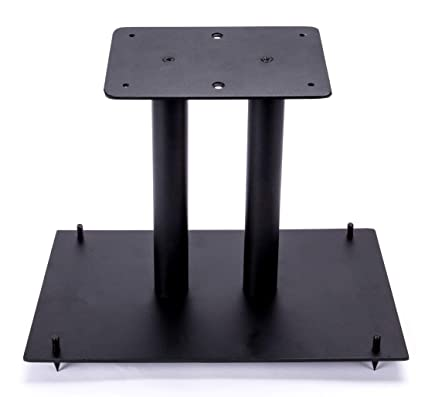 """13"""" Heavy Duty, Steel Center Channel Speaker Stand 