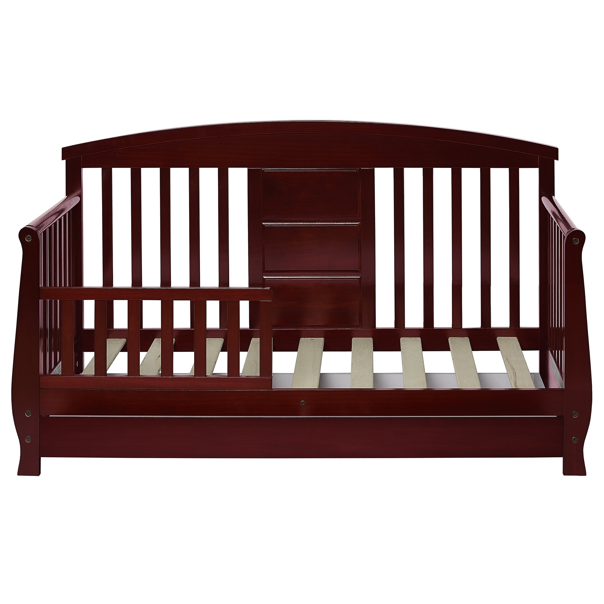 Dream On Me Toddler Day Bed Solid Wood Removable Safety Guard Rail
