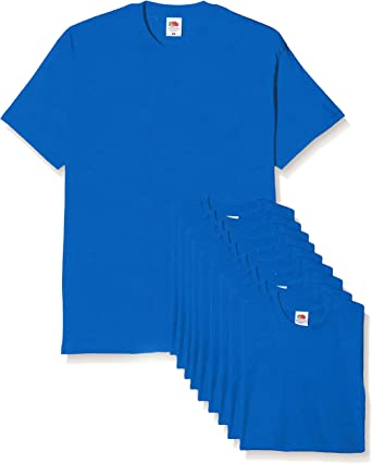 Fruit of the Loom Original T. Camiseta (Pack de 10) para Hombre ...