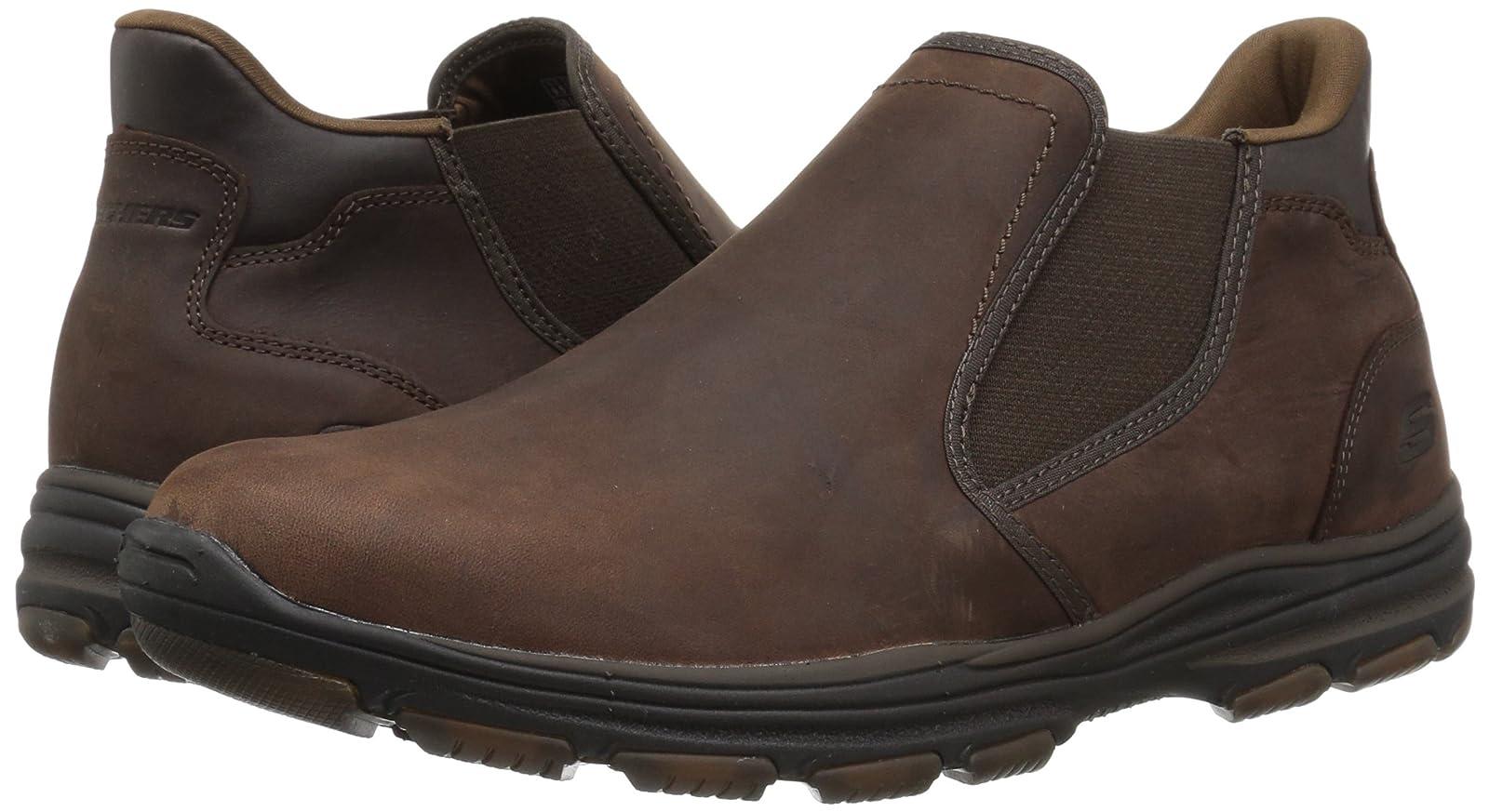 Skechers Men's Garton Keven Ankle Bootie 8 M US - 6