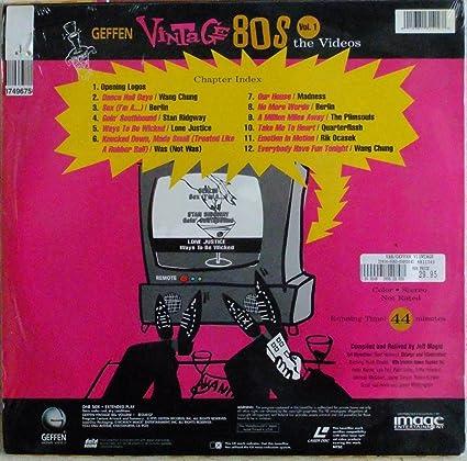 Geffen Vintage 80 S Laserdisc