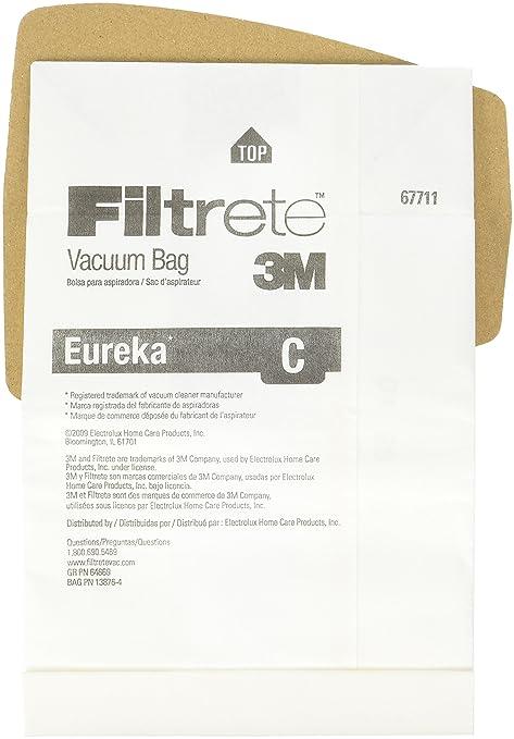 Amazon.com - Eureka C Allergen Bag - Household Vacuum Parts ...