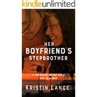 Her Boyfriend's Stepbrother: A MMF Bisexual Romance (The Forbidden Island Girls) book cover