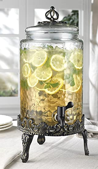 Costco Glass Beverage Dispenser