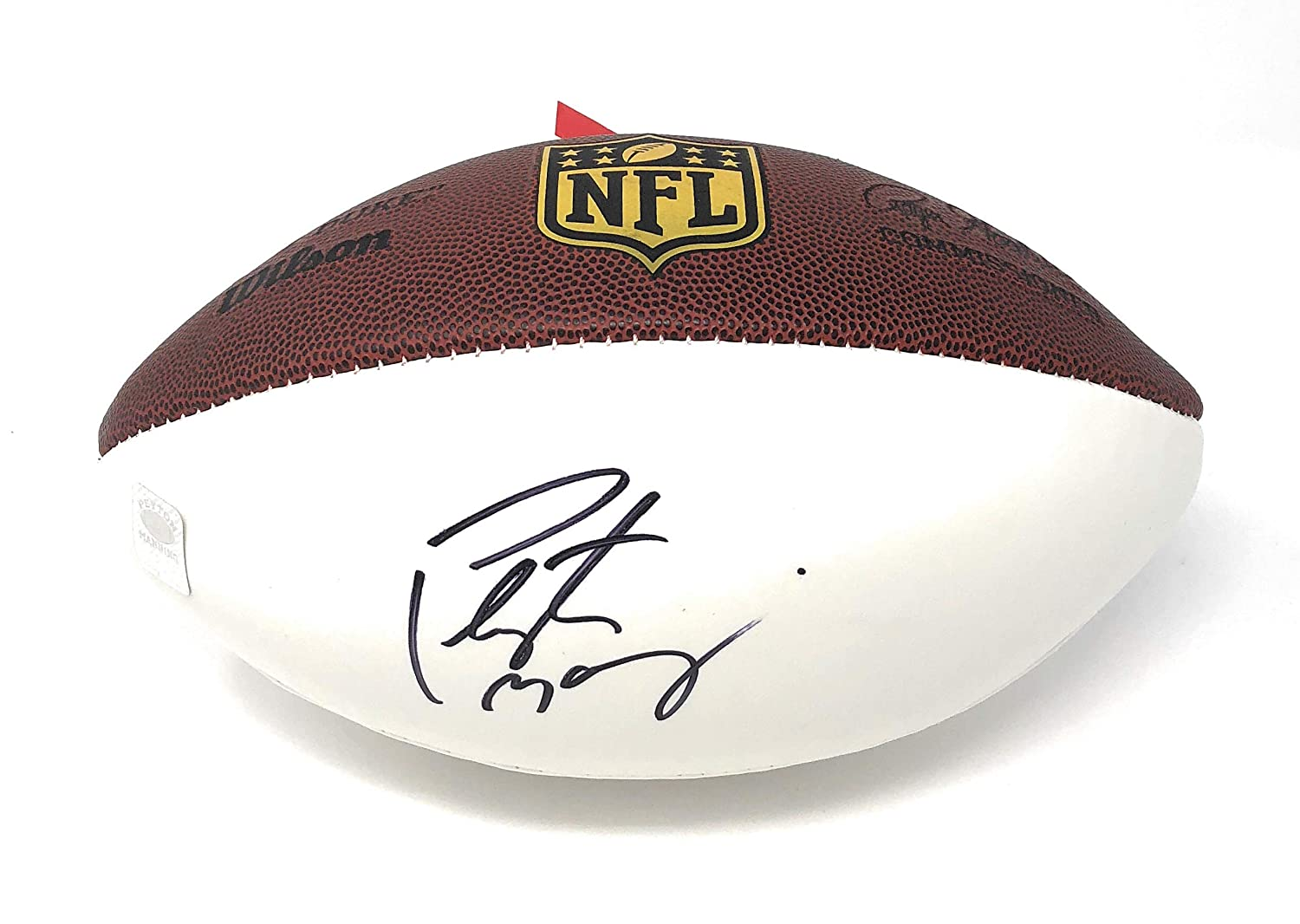 Peyton Manning Indianapolis Colts Denver Broncos Signed Autograph NFL Football Manning Player Hologram