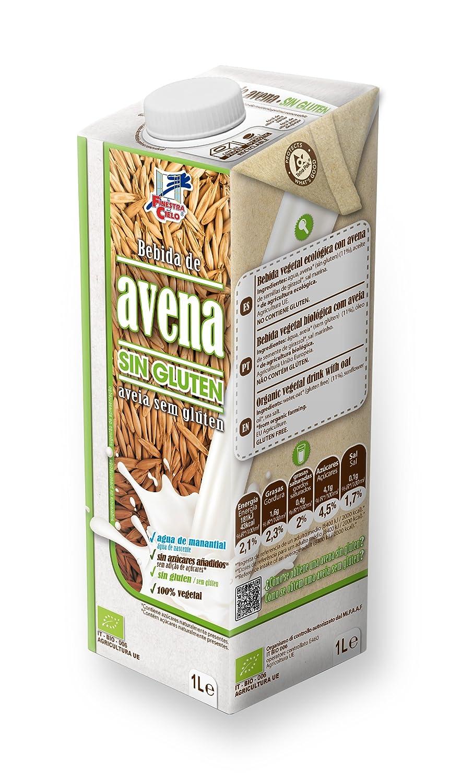 La Finestra Sul Cielo Bebida Vegetal de Avena Sin Gluten - Paquete de 6 x 1000 ml - Total: 6000 ml: Amazon.es: Alimentación y bebidas