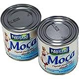 Nestlé Moça Leite Condensado 397g   Sweetened Condensed Milk 14oz. (Pack of 02)