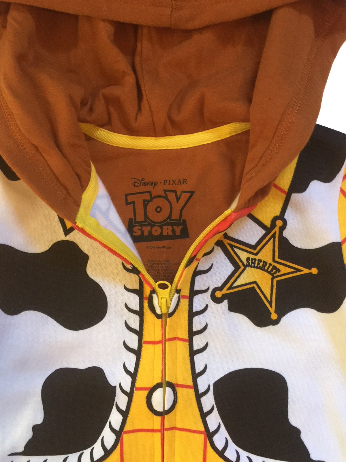 Mighty Fine Disney Toy Story Toddler & Little Boys Woody Character Hoodie (4/4T) by Mighty Fine (Image #3)