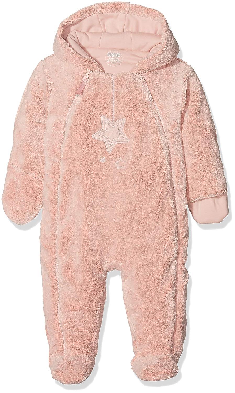 Mamas & Papas Pink Fur Pramsuit, Traje para la Nieve para Bebés Mamas and Papas