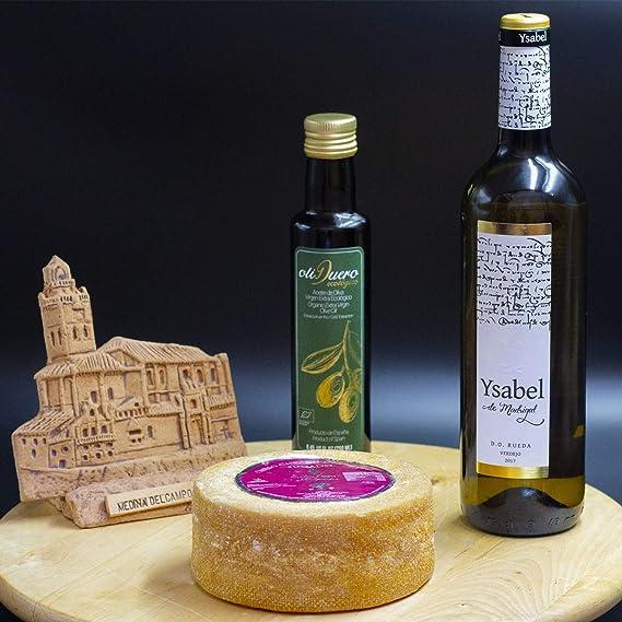 Pack: Botella de Vino Rueda Ysabel de Madrigal + Botella de Aceite de Oliva Oliduero
