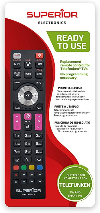 Superior Electronics SUPTRB016 Telefunken Replacement, Mando de ...