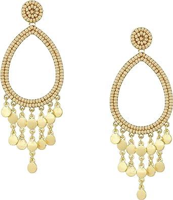 6ab6a5bbc905e Rebecca Minkoff Womens Riley Beaded Drop Earrings
