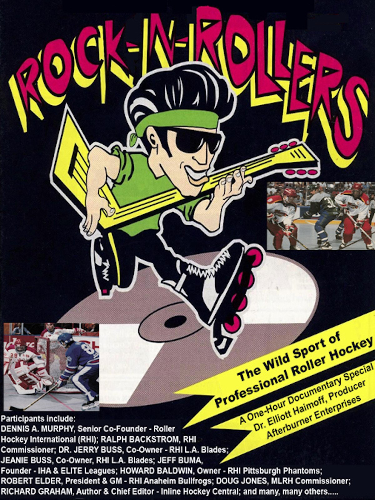 Rock N Rollers: The Wild Sport of Professional Roller Hockey on Amazon Prime Video UK