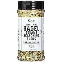 Everything Bagel Seasoning Blend Original XL 10 Ounce Jar. Delicious Blend of Sea...