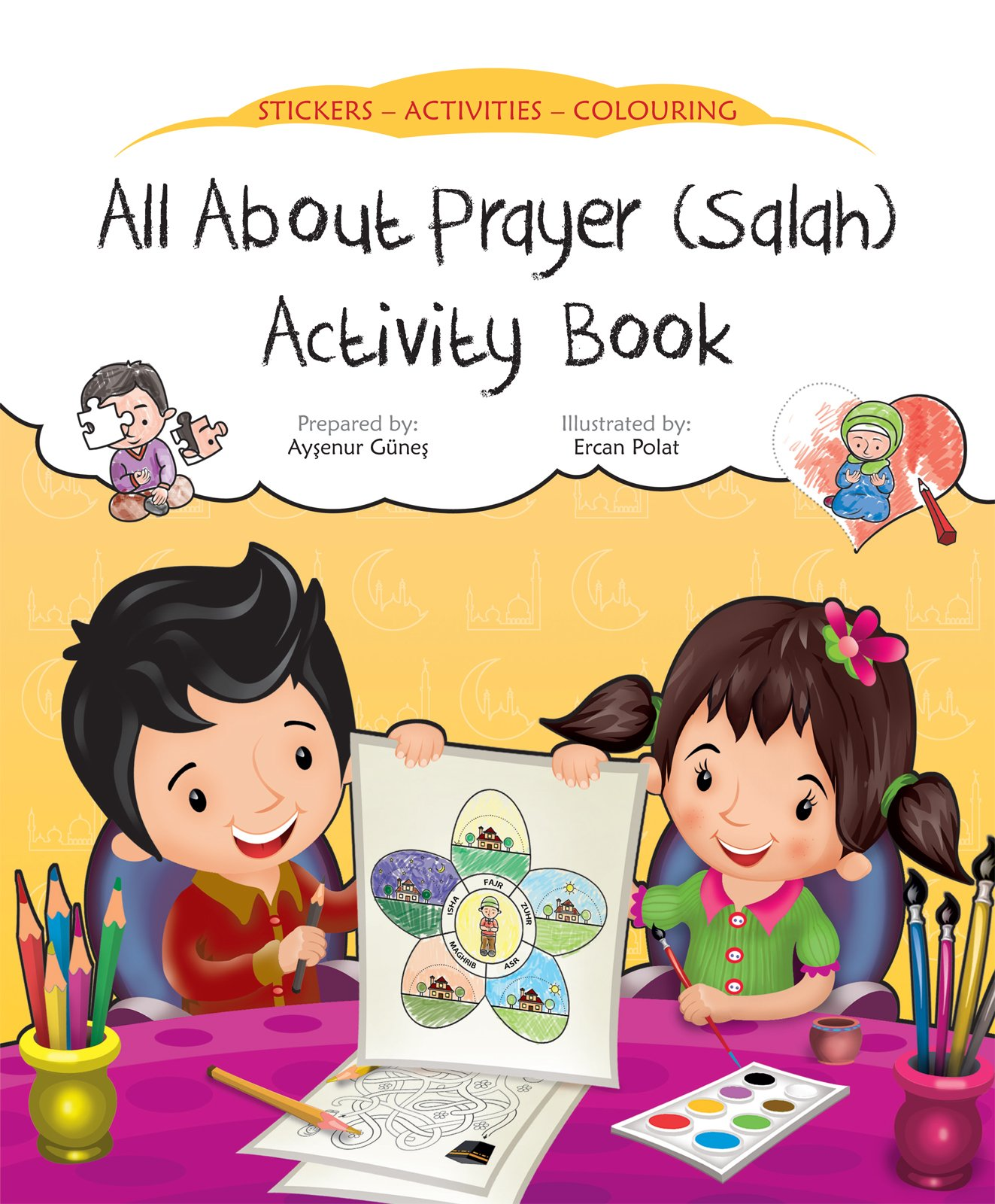 about Prayer Activity Discover Sticker