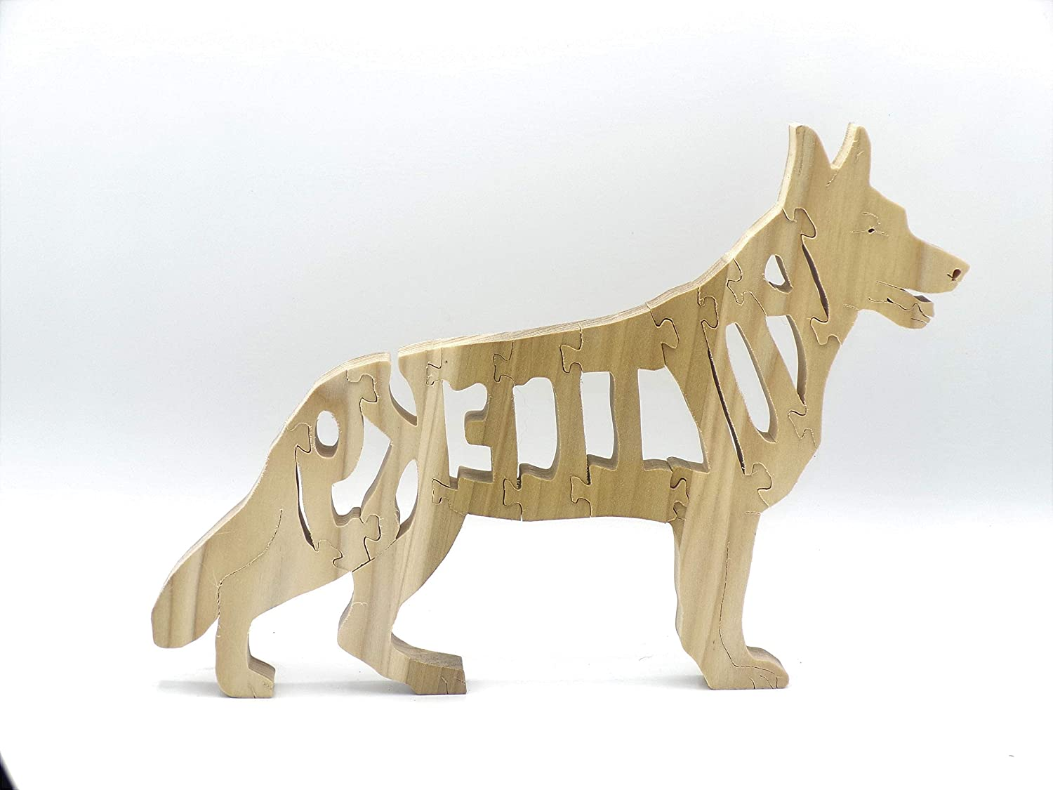 Wooden Police K9 Jigsaw Puzzle
