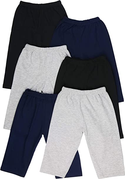 ToBeInStyle Boys 4-Pack Casual Capri Pants Relaxed Fit