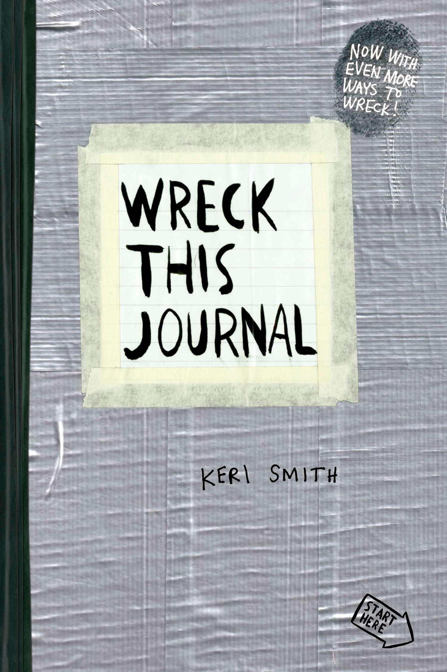 Amazon wreck this journal duct tape expanded ed amazon wreck this journal duct tape expanded ed 9780399162701 keri smith books solutioingenieria Images