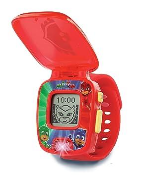 VTech PJ Masks - Owlette Learning Watch Niño/niña - Juegos educativos (Rojo,
