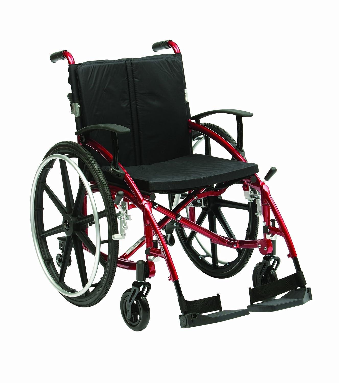 Drive Medical XSESMAG18RD Enigma Spirit Rollstuhl mit Sporträdern ...